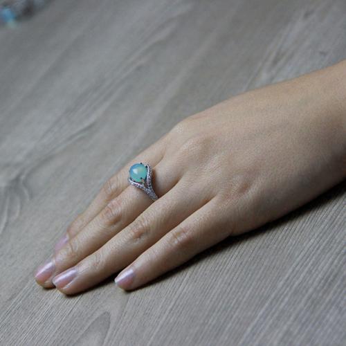 bague femme argent zirconium diamant 8100173 pic6