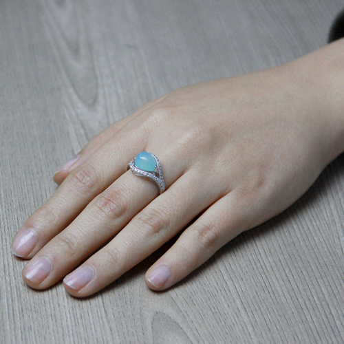 bague femme argent zirconium diamant 8100173 pic7