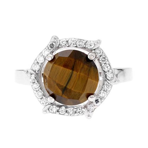 bague femme argent zirconium diamant 8100286 pic2