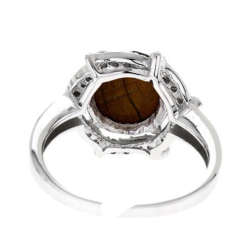 bague femme argent zirconium diamant 8100286 pic4