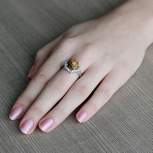 bague femme argent zirconium diamant 8100286 pic5