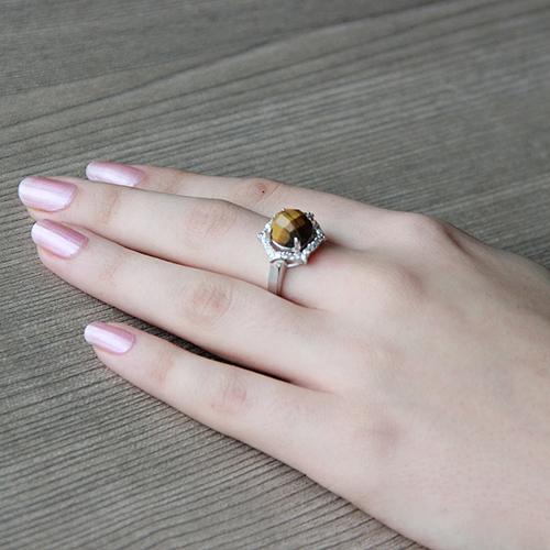 bague femme argent zirconium diamant 8100286 pic6