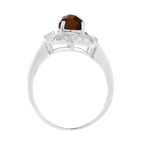 bague femme argent zirconium diamant 8100287 pic3