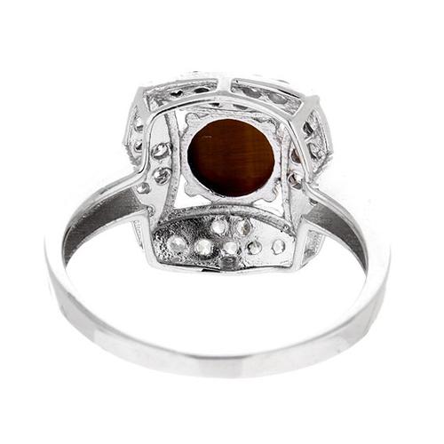 bague femme argent zirconium diamant 8100287 pic4