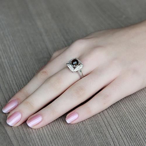 bague femme argent zirconium diamant 8100287 pic5