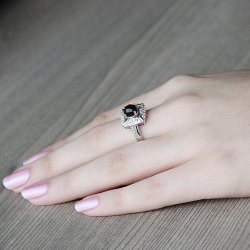 bague femme argent zirconium diamant 8100287 pic6