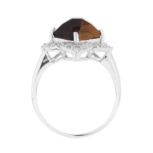 bague femme argent zirconium diamant 8100288 pic3