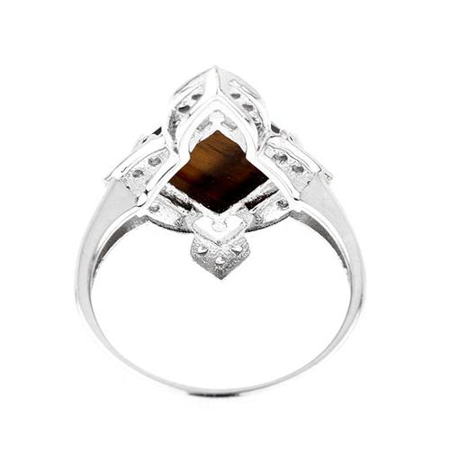 bague femme argent zirconium diamant 8100288 pic4