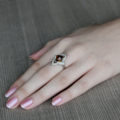 bague femme argent zirconium diamant 8100288 pic5