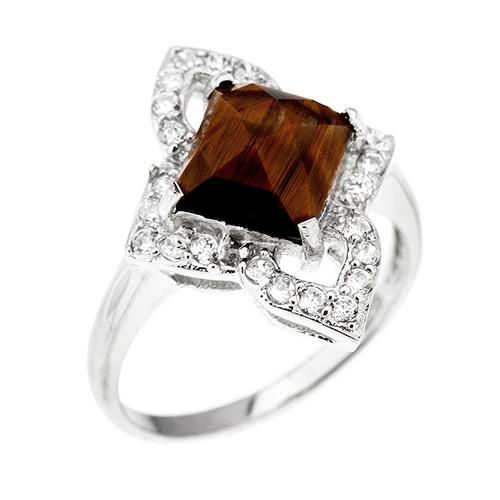 bague femme argent zirconium diamant 8100288