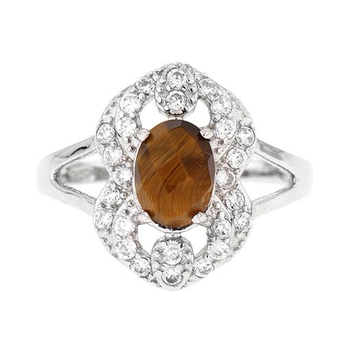 bague femme argent zirconium diamant 8100289 pic2