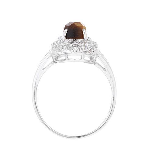 bague femme argent zirconium diamant 8100289 pic3