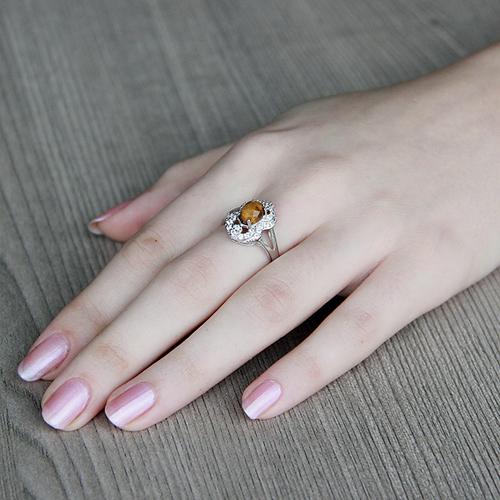 bague femme argent zirconium diamant 8100289 pic5