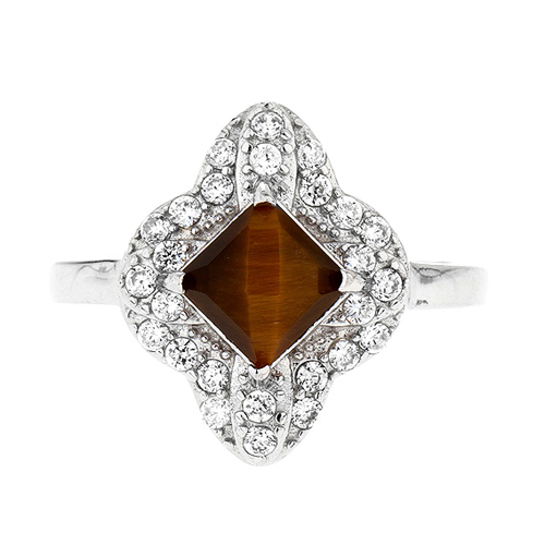 bague femme argent zirconium diamant 8100290 pic2