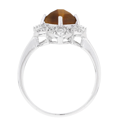 bague femme argent zirconium diamant 8100290 pic3