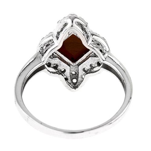 bague femme argent zirconium diamant 8100290 pic4
