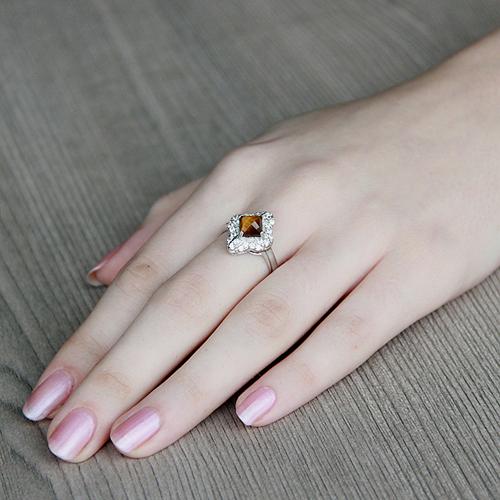 bague femme argent zirconium diamant 8100290 pic5