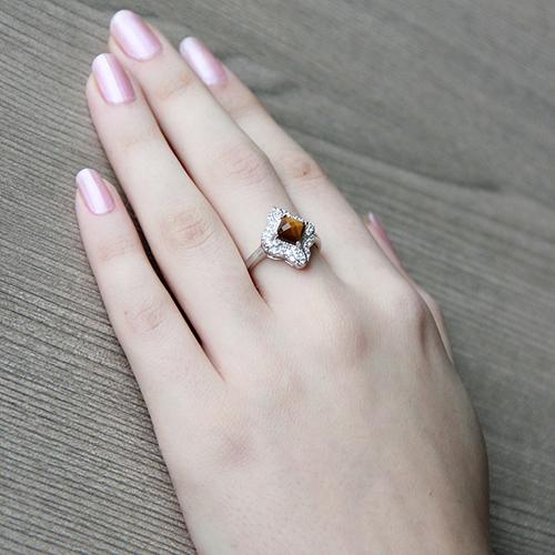 bague femme argent zirconium diamant 8100290 pic6
