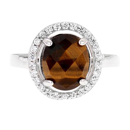 bague femme argent zirconium diamant 8100291 pic2