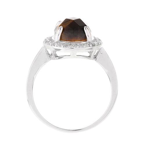 bague femme argent zirconium diamant 8100291 pic3