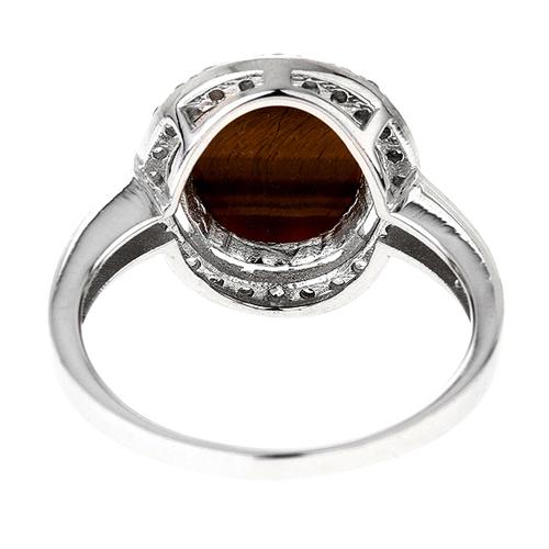 bague femme argent zirconium diamant 8100291 pic4