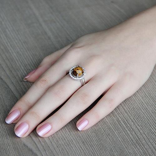 bague femme argent zirconium diamant 8100291 pic5