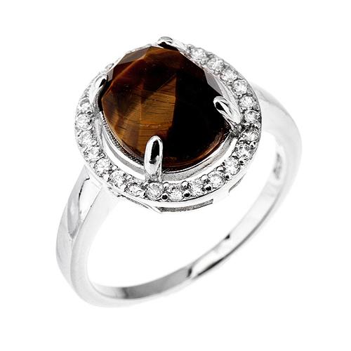 bague femme argent zirconium diamant 8100291