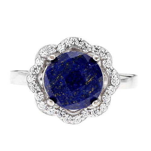 bague femme argent zirconium diamant 8100302 pic2