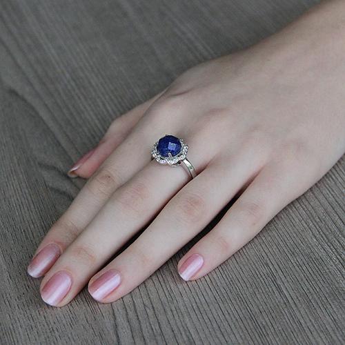 bague femme argent zirconium diamant 8100302 pic5