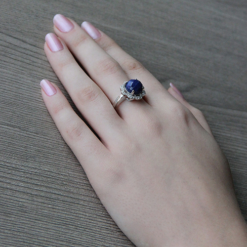 bague femme argent zirconium diamant 8100302 pic6