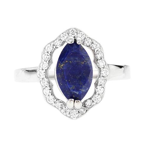 bague femme argent zirconium diamant 8100303 pic2