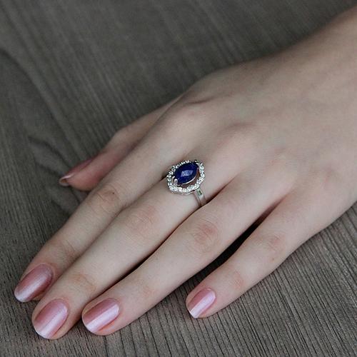 bague femme argent zirconium diamant 8100303 pic5