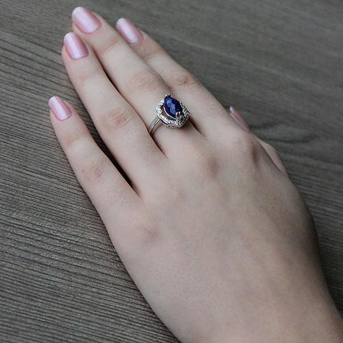 bague femme argent zirconium diamant 8100303 pic6
