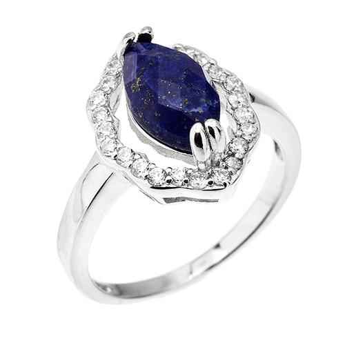 bague femme argent zirconium diamant 8100303