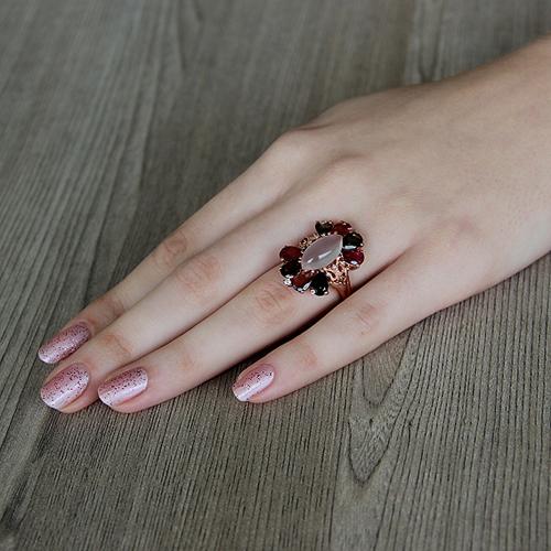 bague femme argent zirconium diamant tourmaline 8100329 pic5