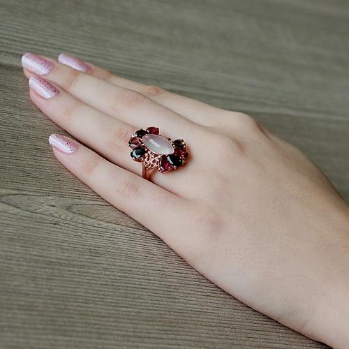 bague femme argent zirconium diamant tourmaline 8100329 pic6