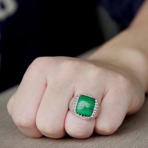 bague homme argent diamant 8100175 pic6