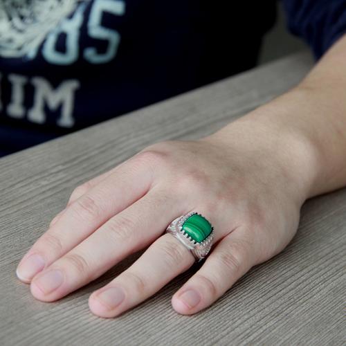 bague homme argent diamant 8100175 pic7
