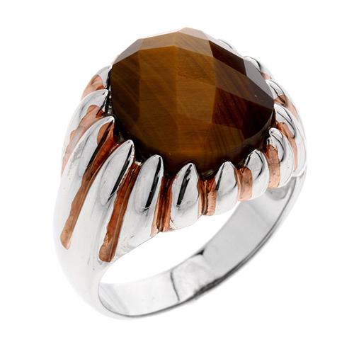 bague homme argent diamant 8100183