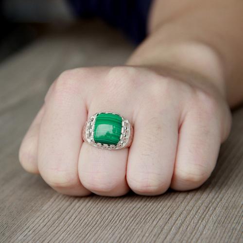 bague homme argent diamant 8100185 pic5