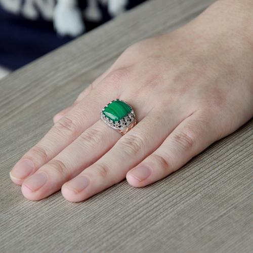 bague homme argent diamant 8100185 pic6