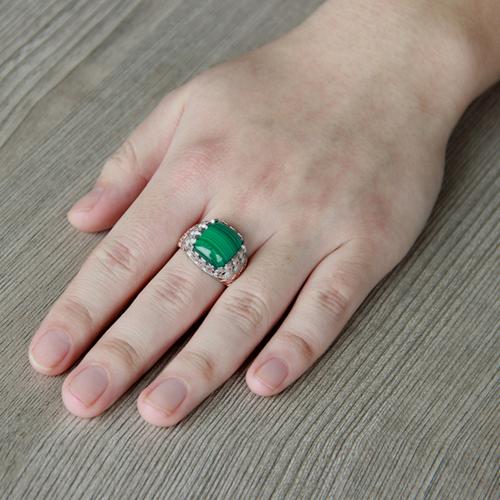 bague homme argent diamant 8100185 pic7