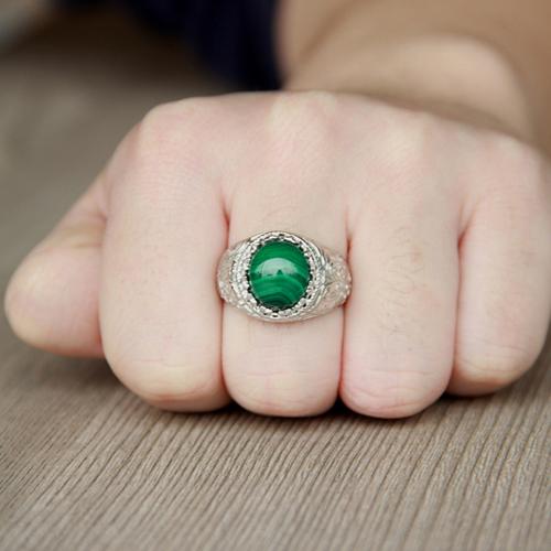 bague homme argent diamant 8100188 pic5