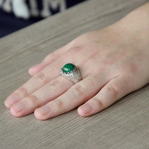 bague homme argent diamant 8100188 pic6