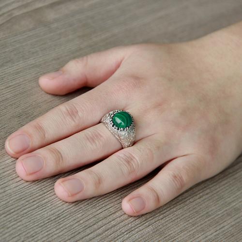 bague homme argent diamant 8100188 pic7