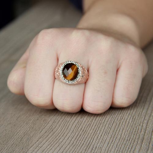 bague homme argent diamant 8100191 pic5