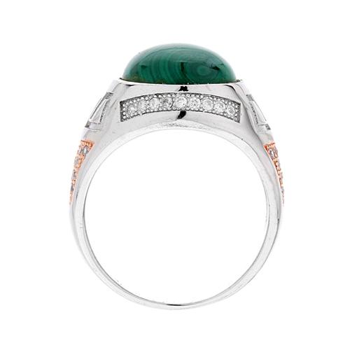 bague homme argent zirconium diamant 8100179 pic3