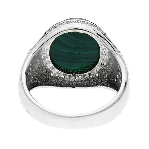bague homme argent zirconium diamant 8100179 pic4