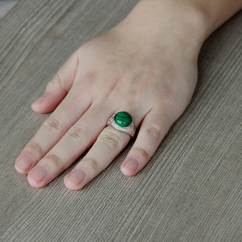bague homme argent zirconium diamant 8100179 pic7