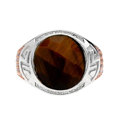bague homme argent zirconium diamant 8100181 pic2